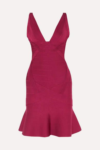 2b01bd298b0 Herve Leger Red Bandage Dresses - ShopStyle