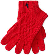 Ralph Lauren Cable Cotton Gloves