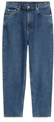 Arket TAPERED Cropped Jeans