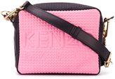 Kenzo 'Kombo' camera crossbody bag - women - Polyester/Polyurethane/Calf Leather - One Size