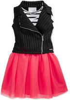 Sean John 2-Pc. Tank Dress & Vest Set, Big Girls (7-16)