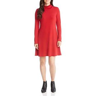 Karen Kane Women's Turtleneck Sweater Dress