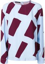 Cédric Charlier colour-block top