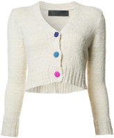 The Elder Statesman V-neck cropped cardigan - women - Cashmere - XS
