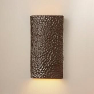 Brayden Studio Durso 1 - Light Wall Sconce Finish: Bisque