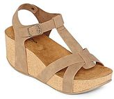 Arizona Sage Strappy Wedge Sandals