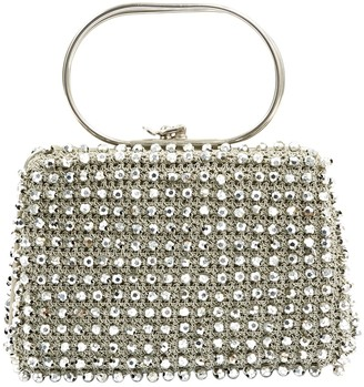 N. Non Signé / Unsigned Non Signe / Unsigned \N Silver Metal Handbags