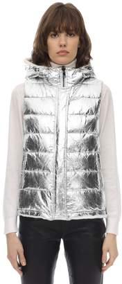Yves Salomon Reversible Metallic & Fur Vest