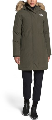 The North Face Arctic Waterproof 550-Fill-Power Down Parka with Faux Fur Trim