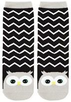 Forever 21 FOREVER 21+ Zigzag Owl Crew Socks
