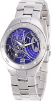 Marvel Fortaleza Captain America Mens Silver-Tone & Blue Watch