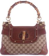 Gucci GG Bamboo Top Handle Bag