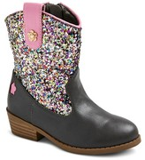 Cover Girl Toddler Girls' Glitter Cowboy Boots