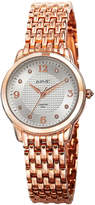 August Steiner Women's Metal Diamond Watch