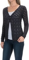 Royal Robbins Summertime Pointelle Cardigan Sweater - Cotton Blend (For Women)