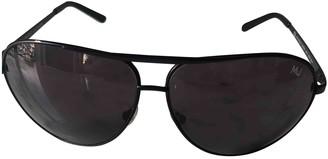 Marc Jacobs Black Metal Sunglasses