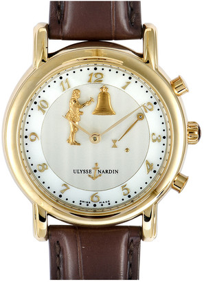 Ulysse Nardin Men's Leather Watch
