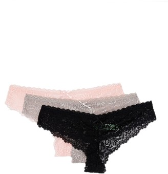 Honeydew Intimates Lace Brief Cut Thong - Pack of 3