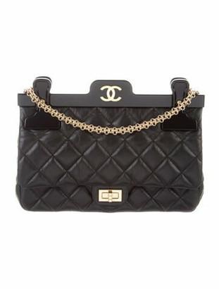 Chanel 2.55 Reissue 225 Hanger Flap Bag Black