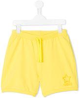 Moschino Kids - drawstring shorts - kids - Cotton/Spandex/Elastane - 14 yrs