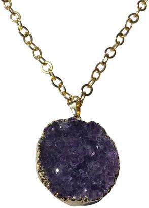 Tiana Jewel Celestial Soul Amethyst Cluster Gemstone Necklace