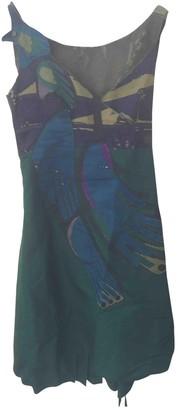 Prada Blue Silk Dresses