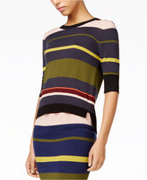 Rachel Roy Tie-Back Striped Top, Only at Macy's