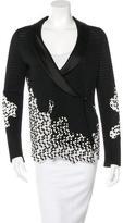 Chanel Embroidered Inset Blazer