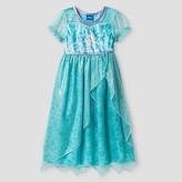 Toddler Girls' Disney® Frozen Elsa Nightgown - Blue