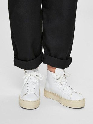 Selected Hailey High Top Trainer White - 4