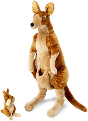 Melissa & Doug Kangaroo and Joey Lifelike Stuffed Animals