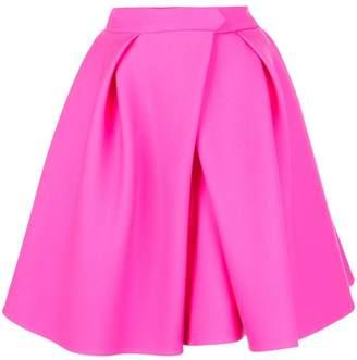 Dice Kayek flared pleated skirt