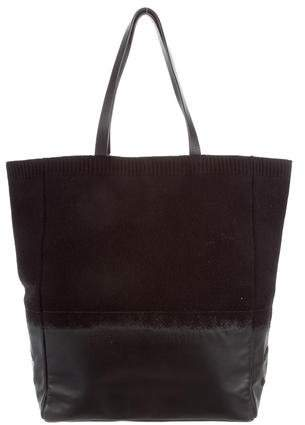 Chanel Wool CC Tote