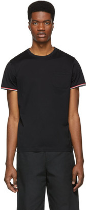 Moncler Black Pocket T-Shirt