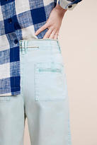 Chino by Anthropologie Cropped Chino Wide-Legs