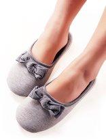 Vero Monte 1 Pair Womens Anti-slip Indoor Slippers (Size 7-8, Grey) 4331CA