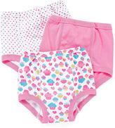 JCPenney Okie Dokie 3-pk. Training Pants - Girls 2t-3t