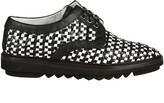 Dolce & Gabbana Woven Lace-up Shoes