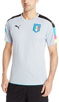 Puma Men's Figc Italia Goalkeeper Short Sleeve Shirt