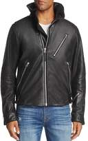 G Star Empral 3D Leather Biker Jacket