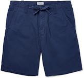 Hartford - Slim-fit Cotton Drawstring Shorts