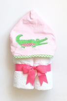 3 Marthas Alligator Hooded Towel