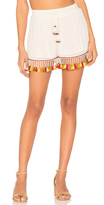 Band of Gypsies Tassel Trim Shorts