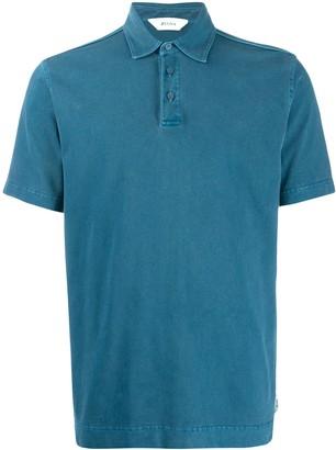 Ermenegildo Zegna Washed Seam Polo Shirt