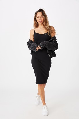 Supre Georgia V Neck Midi Dress