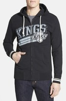 Mitchell & Ness 'Los Angeles Kings - No Grind' Tailored Fit Full Zip Hoodie