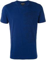 Emporio Armani illustrated logo T-shirt - men - Cotton - S