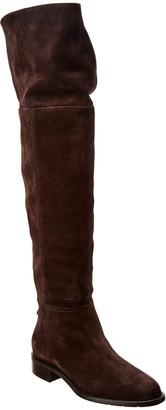 Aquatalia Nita Weatherproof Suede Over-The-Knee Boot
