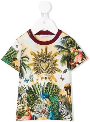 Dolce & Gabbana Kids graphic T-shirt