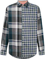 Paul Smith contrast plaid shirt